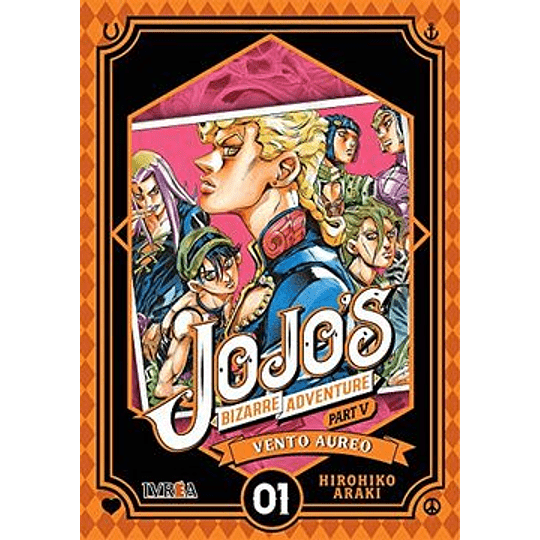 Jojos Bizarre Adventure Part 5 - Vento Aureo 01