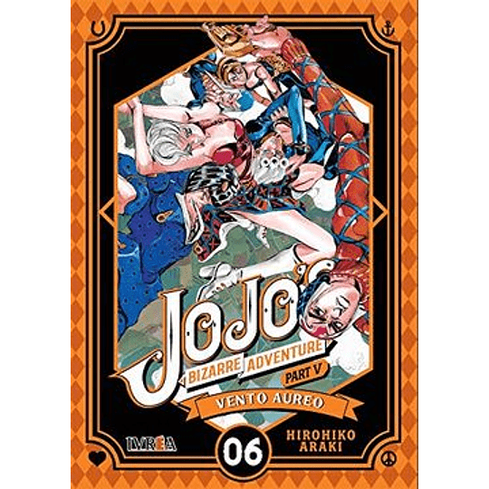 Jojos Bizarre Adventure Part 5 - Vento Aureo 06