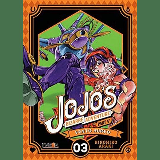 Jojos Bizarre Adventure Part 5 - Vento Aureo 03