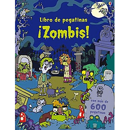 Libro De Pegatinas - Zombis