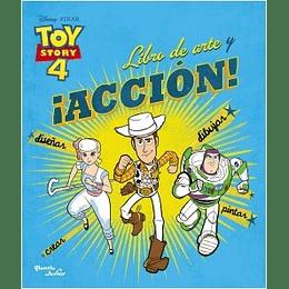 Toy Story 4. Libro De Arte Y Accion