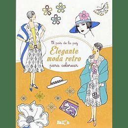 El Pais De La Paz - Elegante Moda Retro Para Colorear