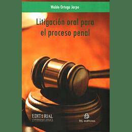 Litigacion Oral Para El Proceso Penal