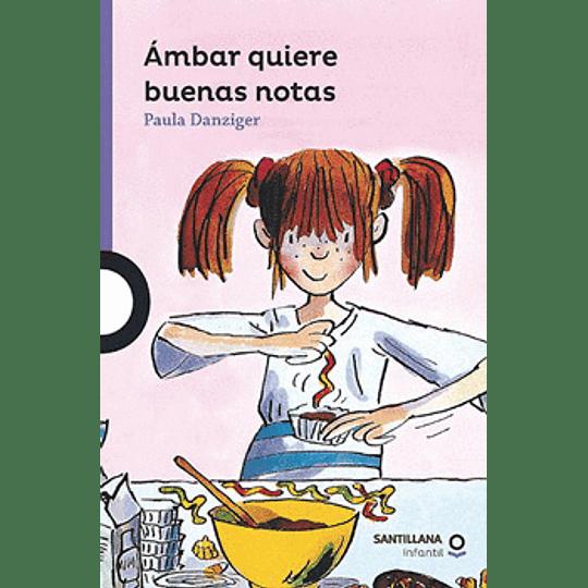 Ambar Quiere Buenas Notas (Morado)