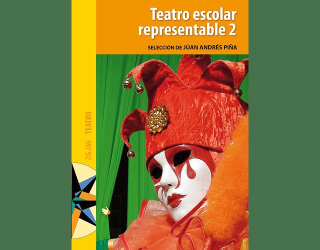 LIBRO 'TEATRO ESCOLAR REPRESENTABLE 2' - PORTADA ANTIGUA