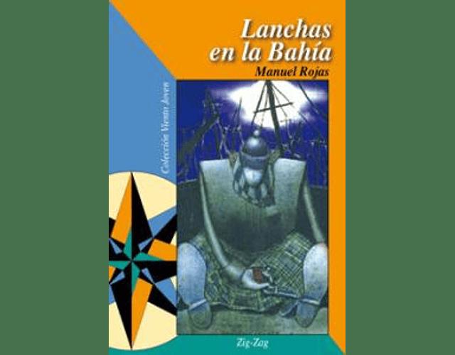 LIBRO 'LANCHAS EN LA BAHIA' - PORTADA ANTIGUA