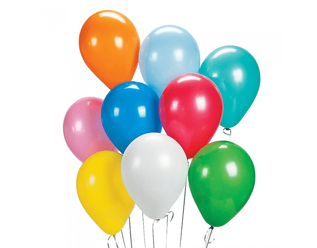 GLOBO N°9 STANDARD BIG PARTY - DIFERENTES COLORES