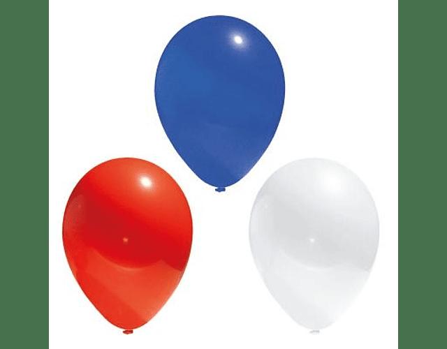 GLOBO Nº9 TRICOLOR BOLSA BIG PARTY