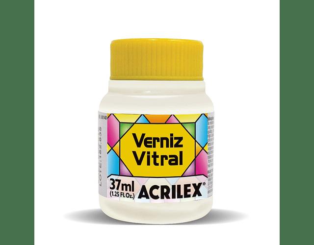 BARNIZ VITRAL INCOLORA ACRILEX 37ML