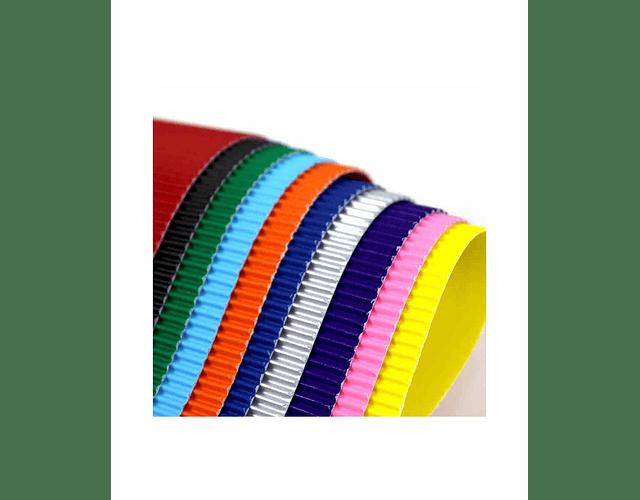 CARTON MICROCORRUGADO KREARTE 50x70 - DIFERENTES COLORES