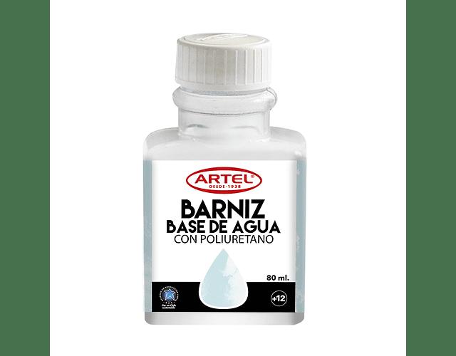 BARNIZ A BASE DE AGUA ARTEL 80ML