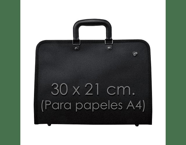 MALETIN PORTAFOLIOS A4 CON CORREA Y BOLSILLO