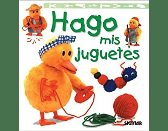 LIBRO 'HAGO MIS JUGUETES'