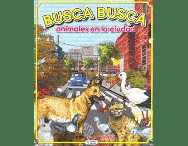 LIBRO 'BUSCA BUSCA: ANIMALES EN LA CIUDAD'