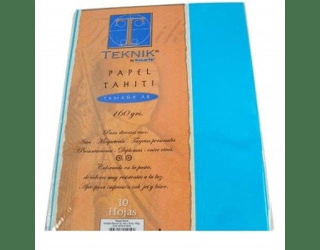 PAPEL TAHITI 160GRS. TAMAÑO A4 X 10 HOJAS