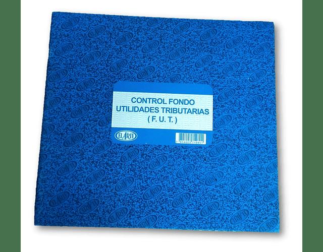 LIBRO CONTROL FUT 24 HOJAS TAPA CARTÓN