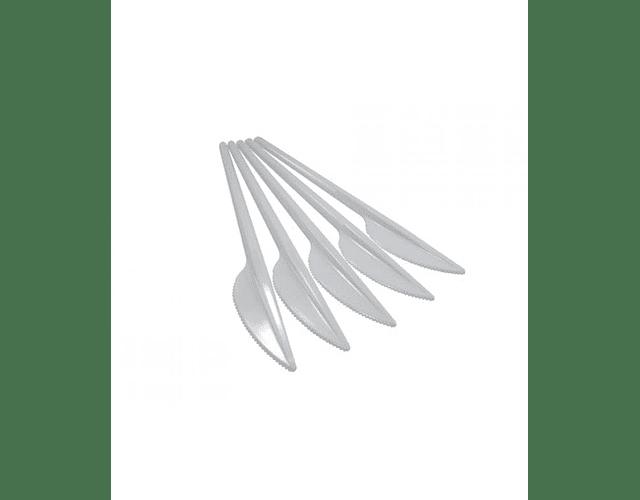 CUCHILLO PLASTICO DESECHABLE X 10 UNIDADES