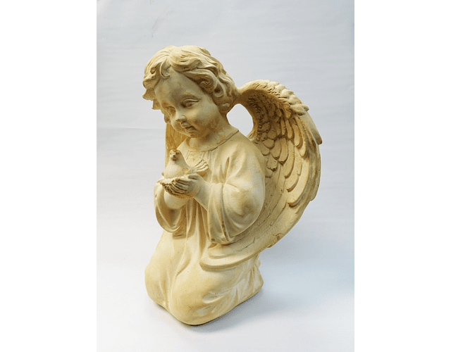 ANGEL PALOMA 34X28 CMS YESO