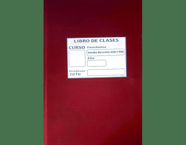 LIBRO CLASES EDUCACIÓN MEDIA 18 ASIGNATURAS 1º A 4º SUB.
