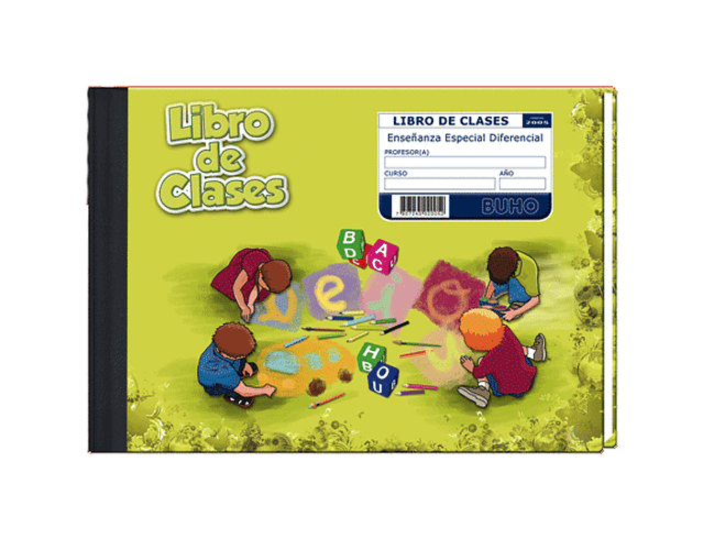 LIBRO CLASES BUHO ESPECIAL DIFERENCIAL