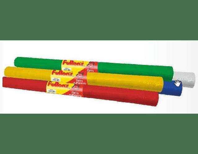 FORRO ADHESIVO 100 X 33CMS. 1 ROLLO - COLORES