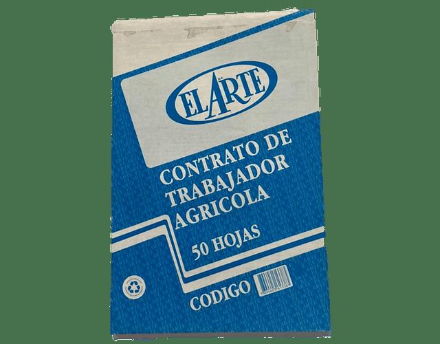 FORMULARIO CONTRATO TRABAJADOR AGRÍCOLA BLOCK 50HOJAS