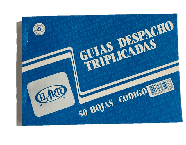 FORMULARIO GUÍA DESPACHO TRIPLICADO 50 HOJAS T/36 (FO14)