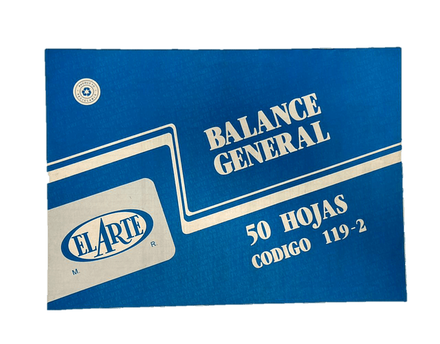 BLOCK BALANCE 50 HOJAS. 119-2