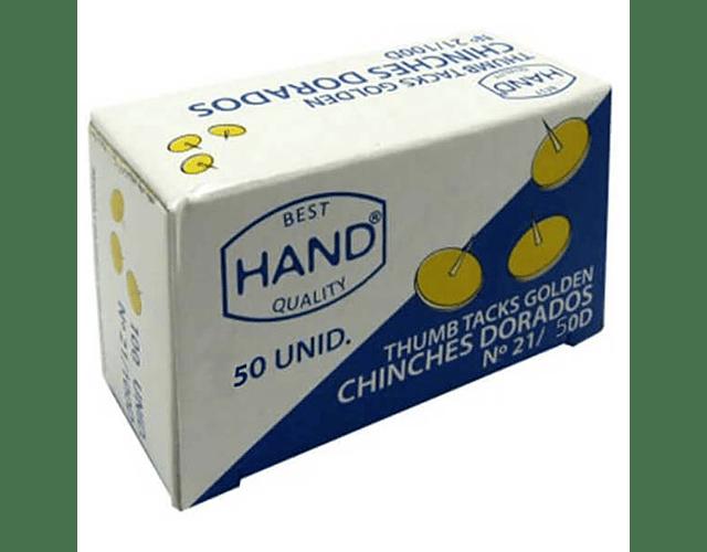 CHINCHE DORADO CAJA 50 UNIDADES