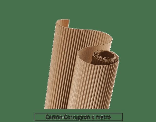 CARTON CORRUGADO CAFE 80 CMS X METRO