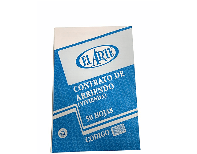FORMULARIO CONTRATO ARRIENDO 50 HOJAS