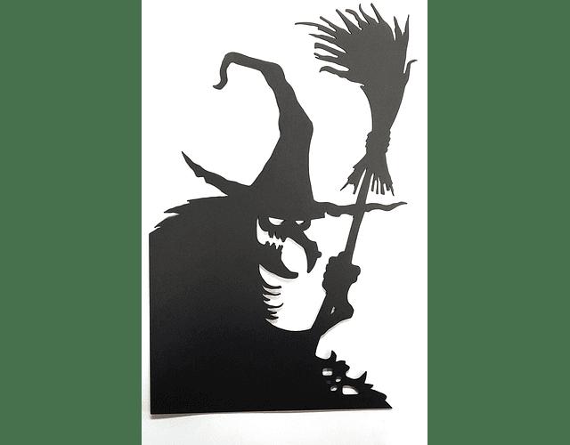 BRUJA HALLOWEEN/CARTON