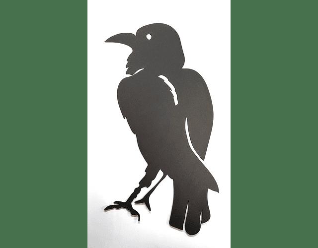 FIGURA CUERVO HALLOWEEN / CARTON