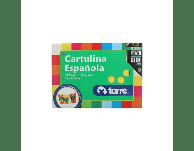 CARPETA ESCOLAR CARTULINA ESPAÑOLA