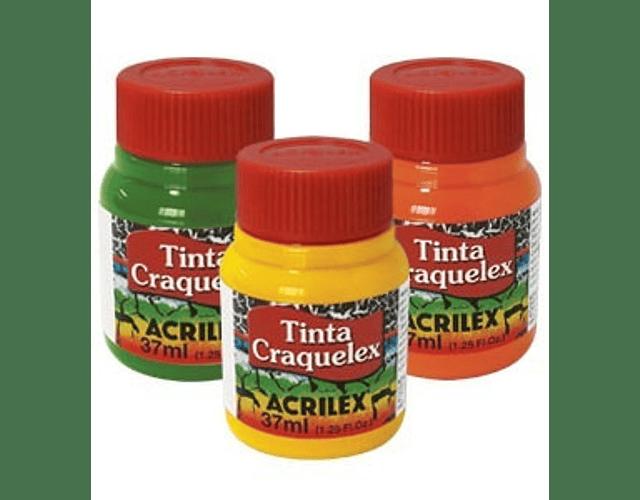 PINTURA ACRILEX CRAQUELEX 37ML - DIFERENTES COLORES