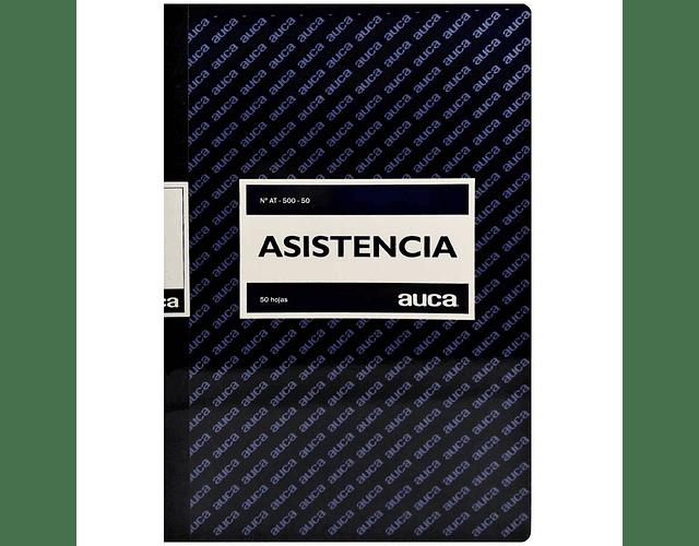 LIBRO ASISTENCIA - DIFERENTE CANTIDAD DE HOJAS