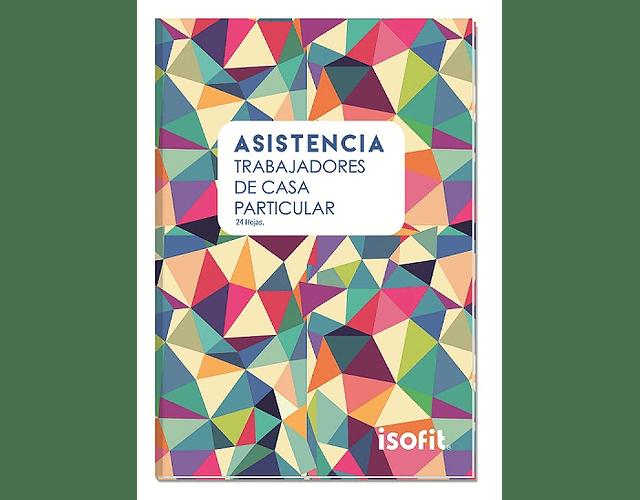 LIBRO DE ASISTENCIA ISOFIT CASA PARTICULAR 24 HOJAS