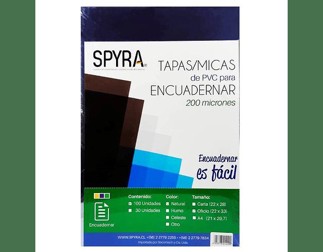 MICA OFICIO SPYRA 200 MICRONES - DIFERENTES COLORES