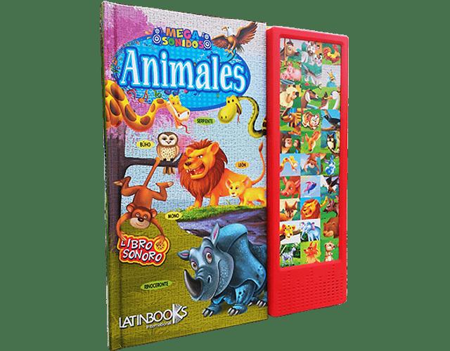 LIBRO 'MEGA SONIDOS: ANIMALES'