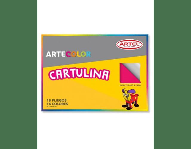 CARPETA ESCOLAR DE CARTULINA 18 PLIEGOS
