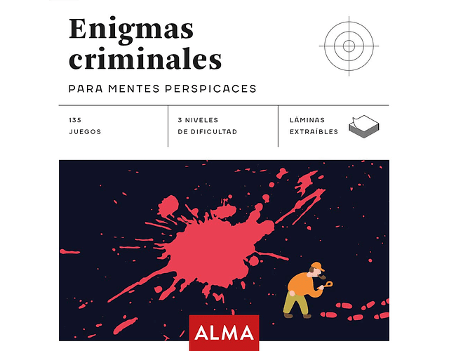 LIBRO 'ENIGMAS CRIMINALES PARA MENTES PERSPICACES'