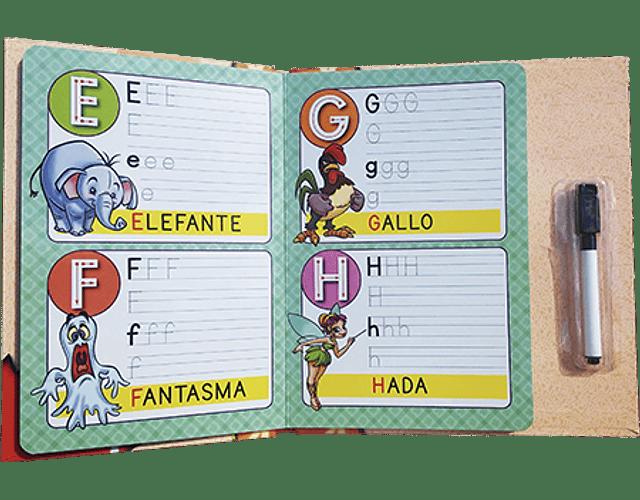 LIBRO 'APRENDAMOS JUNTOS: ALFABETO MAGICO'