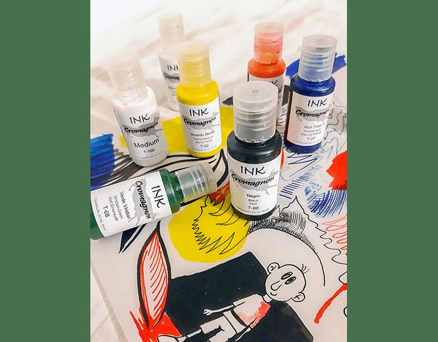 TINTA ACRILICA INK CROMAGNON - DIFERENTES COLORES