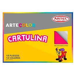CARPETA CARTULINA 18 HOJAS
