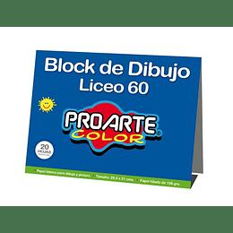 BLOCK LICEO 20 HOJAS
