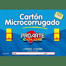 ESTUCHE CARTÓN MICROCORRUGADO 6 HOJAS