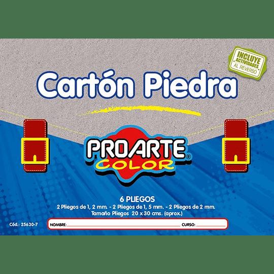 ESTUCHE CARTÓN PIEDRA 6 PLIEGOS