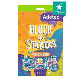 BLOCK DE STICKERS MASCOTAS