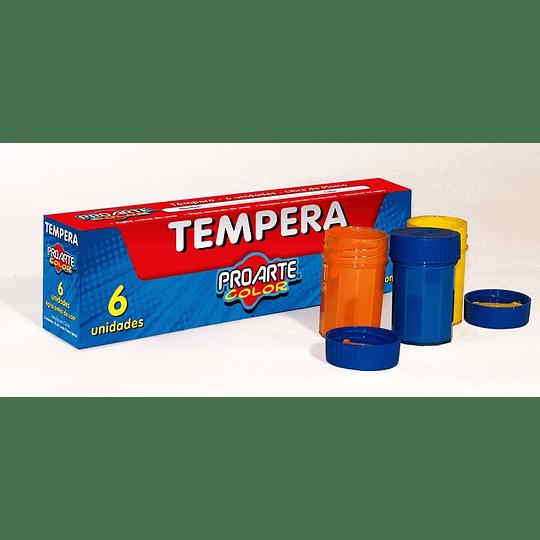 TEMPERA 6 COLORES