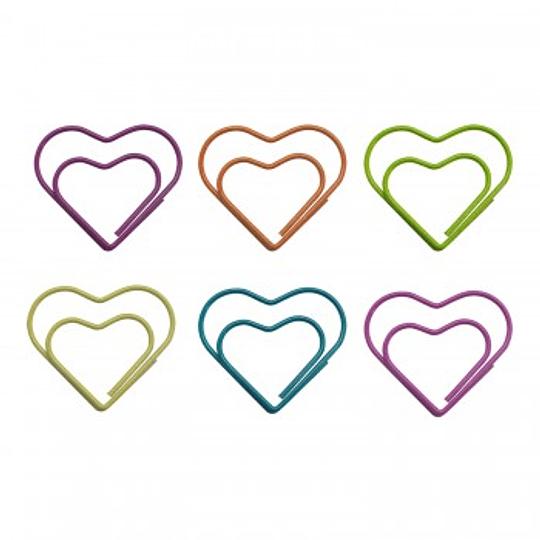 Clips diseño Corazón